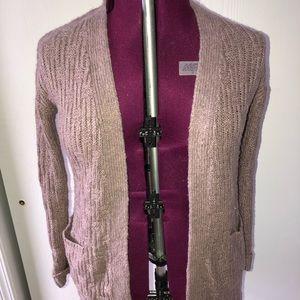 Blush pink open front cardigan.. Size medium